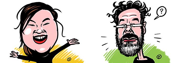 Karikaturen online